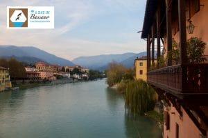 Bassano del grappa neben Venedig Stadt