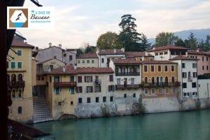 Bassano del Grappa best Italian town near Venice