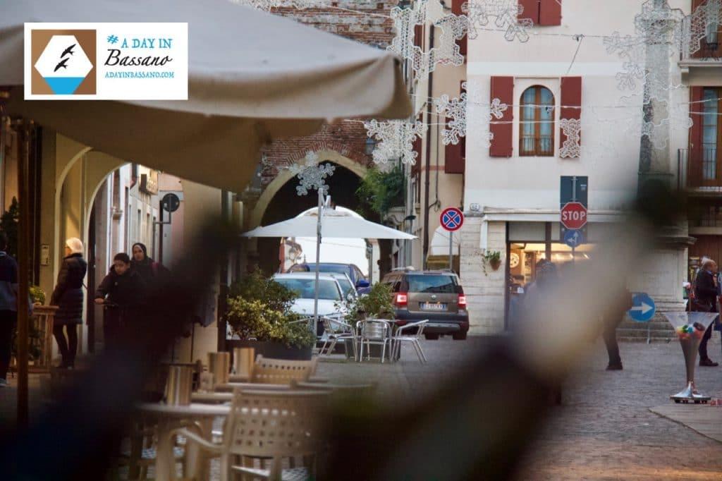 Bassano del Grappa town near Venice